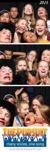 2016 high school youth gathering photo booth