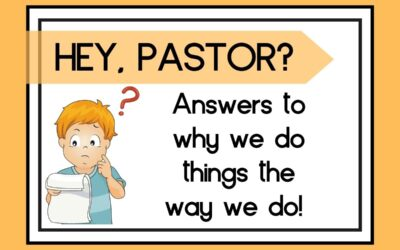 Hey Pastor?  Is that what it said before?
